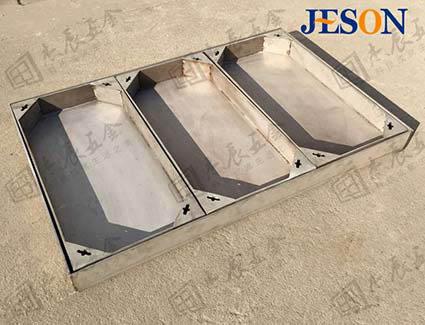不锈钢双层多内框井盖 JG-Y04