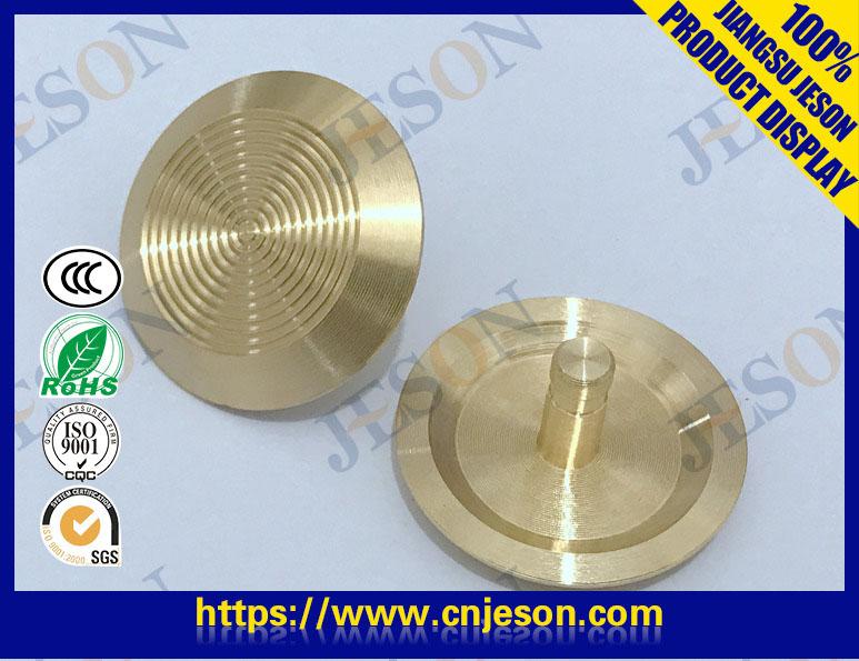 铜制盲道钉(圈纹) JM-D04