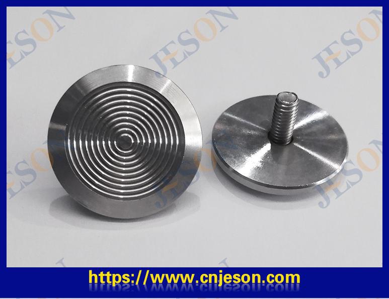 不锈钢盲道钉(圈纹) JM-D01