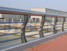S型不锈钢桥梁护栏 JH-Q07