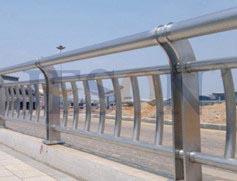双片不锈钢桥梁护栏 JH-Q05