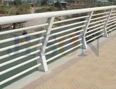 镀锌穿管桥梁护栏 JH-Q07