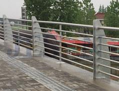镀锌穿管桥梁栏杆 JH-Q11