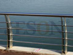 弯形双片桥梁栏杆 JH-Q12