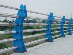 弯月镀锌桥梁护栏 JH-Q20