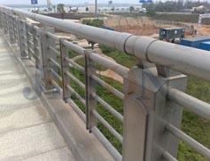 不锈钢空心桥梁栏杆 JH-Q14