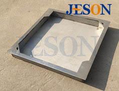 不锈钢包边隐形井盖 JG-Y03