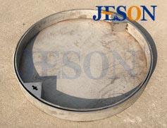 不锈钢圆形井圈隐形井盖 JG-Y05