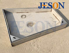 316钢板隐形井盖 JG-Y08