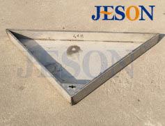 不锈钢下层式铺装井盖 JG-Y09