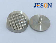 不锈钢盲道钉(菠萝纹) JM-D02