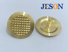 铜制盲道钉(菠萝纹) JM-D05
