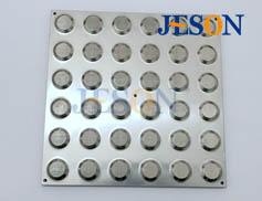 不锈钢盲道板 JM-B02